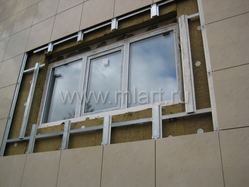 Отделка фасада дома цена за м2